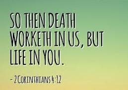 death unto life