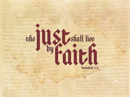Just shall live by faith