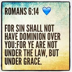 Image result for under grace not law