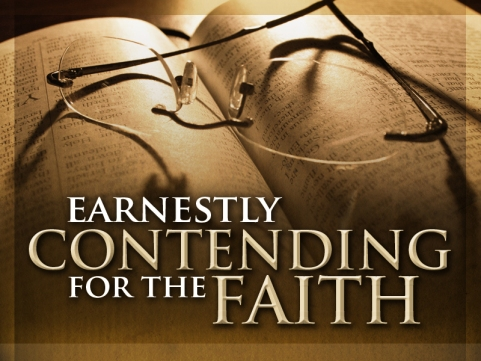 Earnestly Contending for the Faith (title)