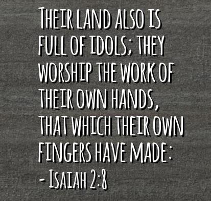 Isaiah 2 8