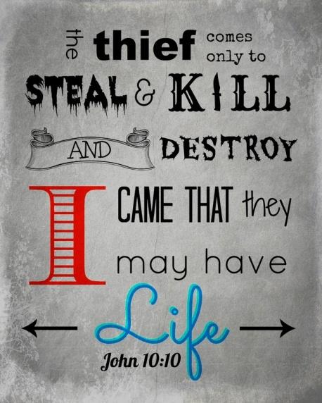 John 10 10