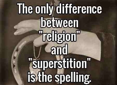 Religion Superstition
