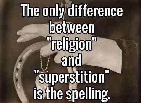 Religion Superstition