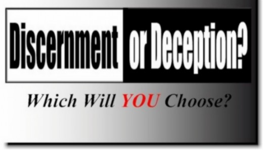 Discernment or deception