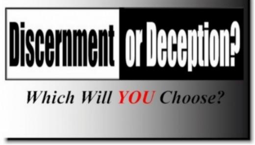 Discernment or deception