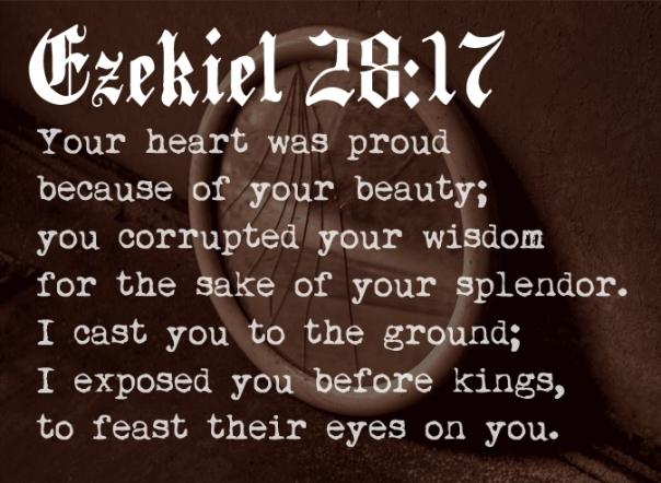 Ezekiel 28 17
