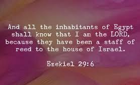 Ezekiel 29 6