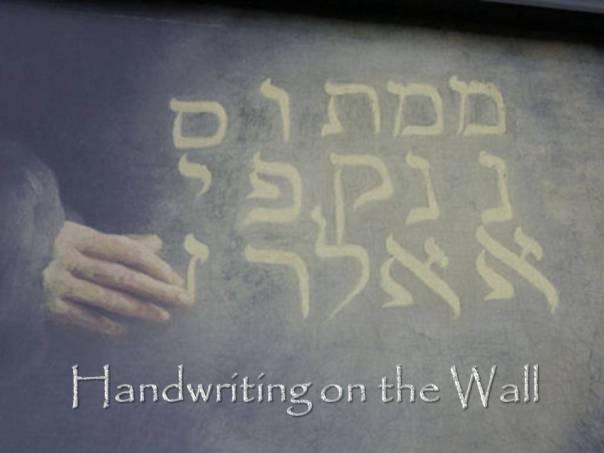 Handwriting on the Wall