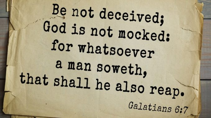 Be Not Deceived | Living in The Spirit