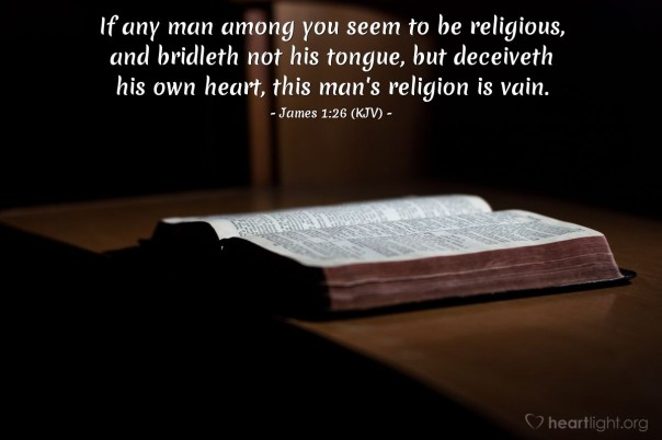 James 1 26
