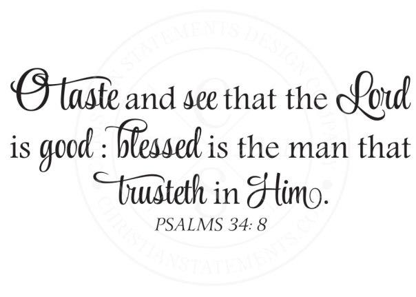 Psalms 34 8